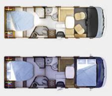 Rapido Serie 8 891 F Design Edition - Plano - Distribución