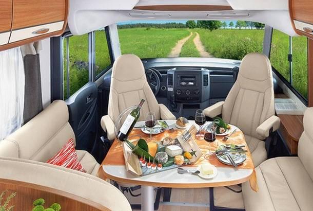 Rapido Serie 8 891 M - Interior