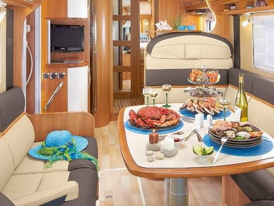 Rapido Serie 10 10000 dFH Design Edition - Interior