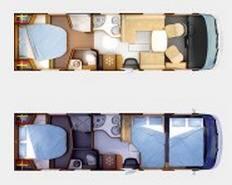 Rapido Serie 10 10000 dFH Design Edition - Plano - Distribución