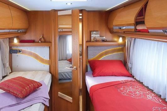 Rapido Serie 9 9005 dFH - Interior