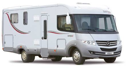 Rapido Serie 9 992 MH Design Edition - Exterior