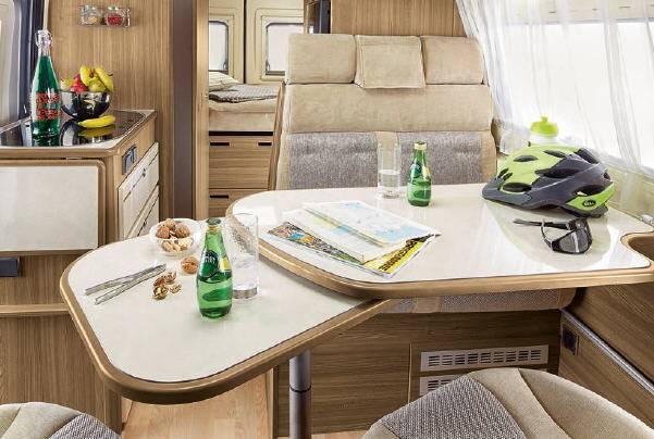 Rapido Van V 55 - Interior