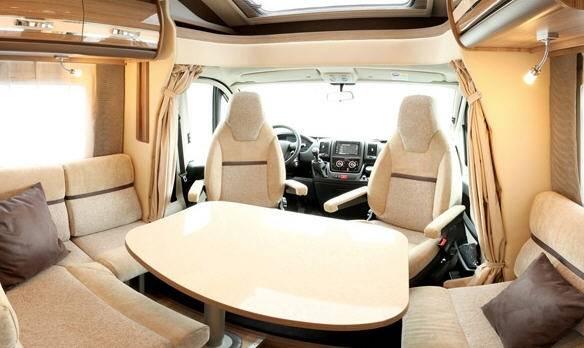 Rapido Serie 6 691 FF - Interior