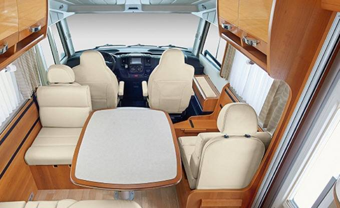 Rapido Serie 10 10000 dFH Alde - Interior
