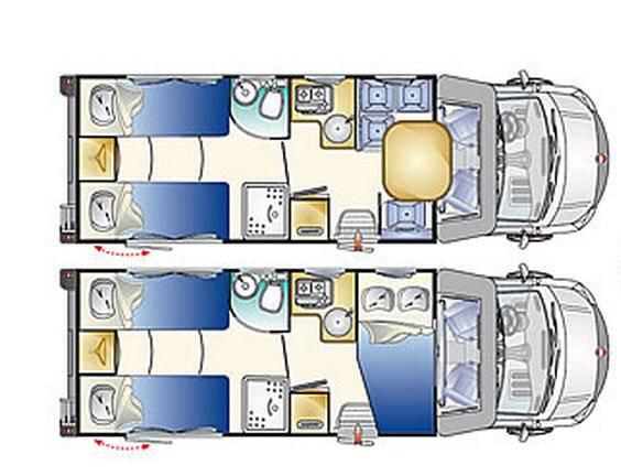 Rimor Sailer 95 - Plano - Distribución