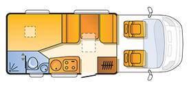 Sun Living Lido S 42 DF - Plano - Distribución