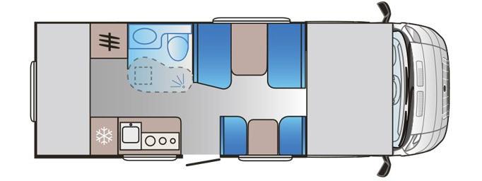 Sun Living S 70 DK - Plano - Distribución