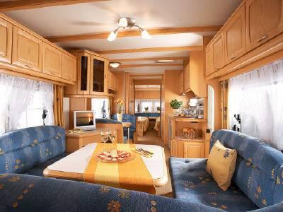 Caravana hobby landhaus 750 uml modelo de 2008 - Interior caravana ...