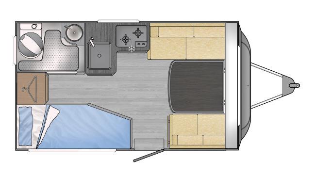 Across Car SAFARI 330 DL - Plano - Distribución