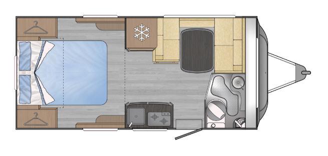 Across Car SAFARI 445 LM - Plano - Distribución