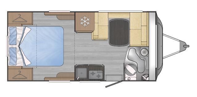 Across Car SAFARI 450 LM - Plano - Distribución