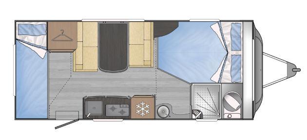 Across Car SAFARI 485 SDL - Plano - Distribución