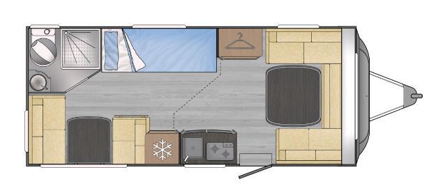 Across Car SAFARI 498 DDL - Plano - Distribución