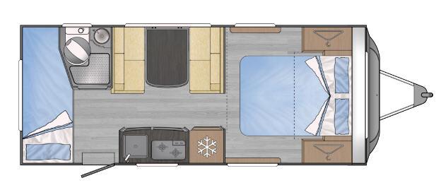 Across Car SAFARI 542 CDL - Plano - Distribución