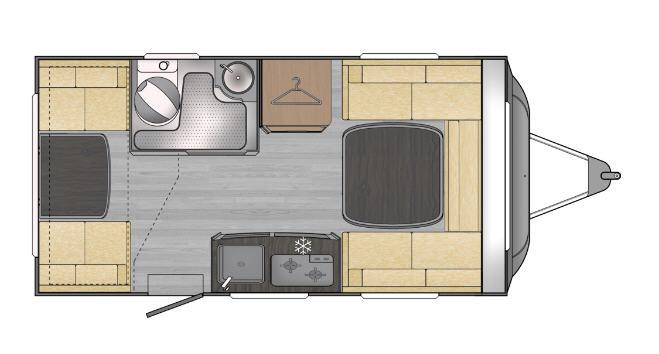 Across Car ARENA 370 DD - Plano - Distribución