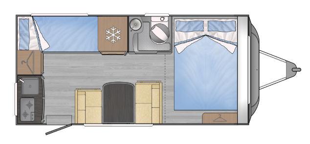 Across Car ARENA 456 LTA - Plano - Distribución