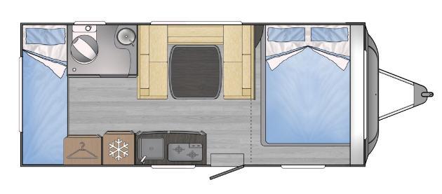 Across Car ARENA 500 CDL - Plano - Distribución