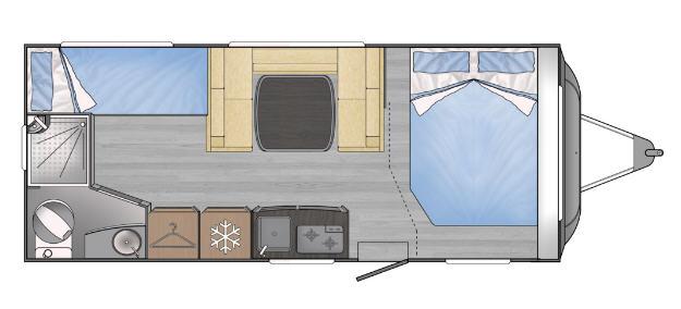 Across Car ARENA 502 CDL - Plano - Distribución