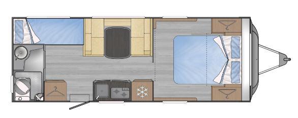 Across Car ARENA 622 LDC - Plano - Distribución