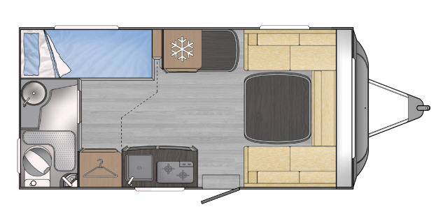 Across Car LUXOR 440 DL - Plano - Distribución
