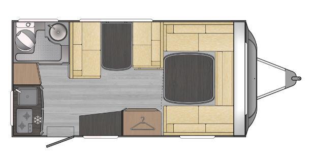Across Car LUXOR 440 EK - Plano - Distribución