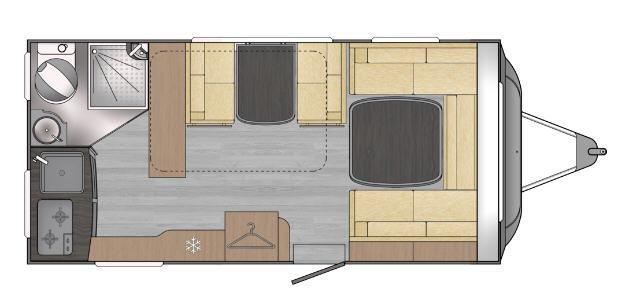 Across Car LUXOR 450 LA - Plano - Distribución