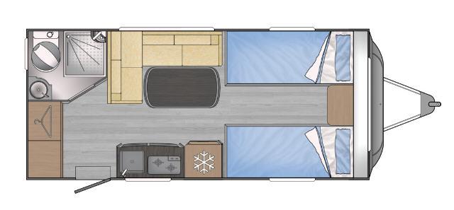 Across Car LUXOR 480 LJ - Plano - Distribución