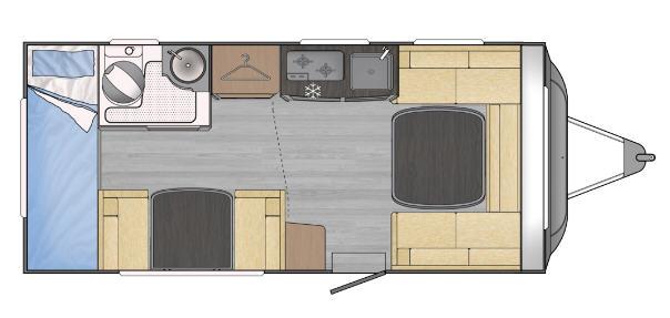 Across Car LUXOR 480 DDL - Plano - Distribución