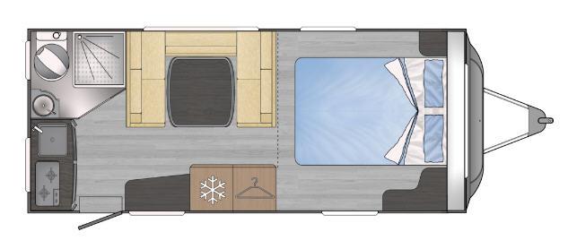 Across Car LUXOR 501 CP - Plano - Distribución