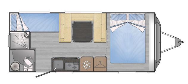 Across Car LUXOR 540 CDL - Plano - Distribución