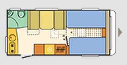 Adria Aviva Move 482 LH - Plano - Distribución