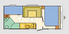 Adria Aviva Space 495 LM - Plano - Distribución