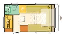 Adria Altea 4 Four - Go Colour - Plano - Distribución