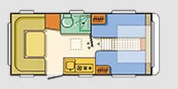 Adria Adora 492 LU - Plano - Distribución