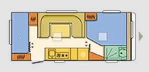 Adria Adora 573 TK - Plano - Distribución