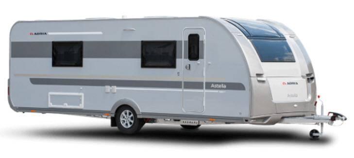 Adria Astella GLAM Edition 563 PU - Exterior