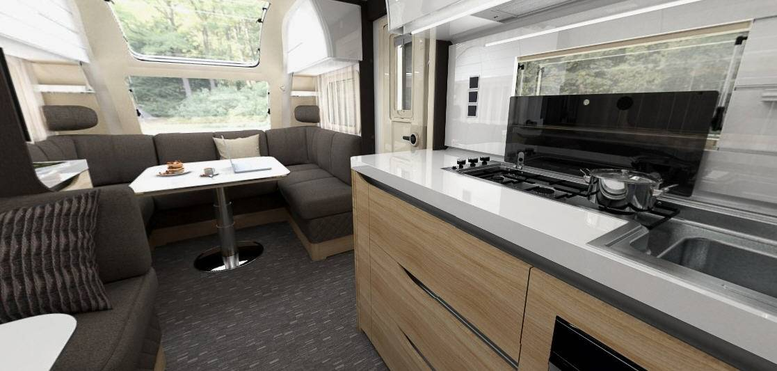 Adria ALPINA 573 UP - Interior