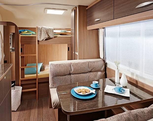 Bürstner PREMIO 550 TK - Interior