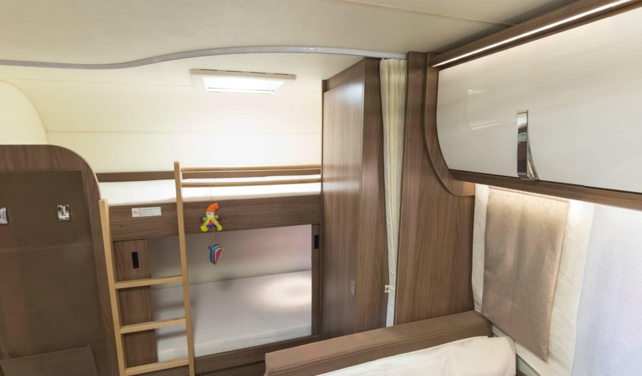 Bürstner Averso Top 520 TK - Interior