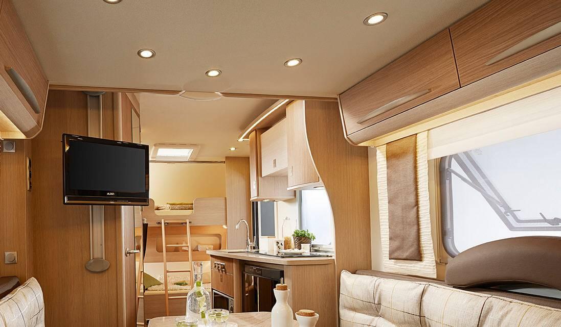 Bürstner Averso Plus 510 TK - Interior