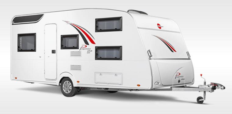 caravana b rstner premio plus 440 tk modelo de 2017. Black Bedroom Furniture Sets. Home Design Ideas