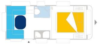 Caravelair VENICIA PREMIUM 470 - Plano - Distribución