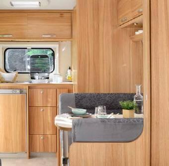 Caravelair ALLEGRA 420 - Interior