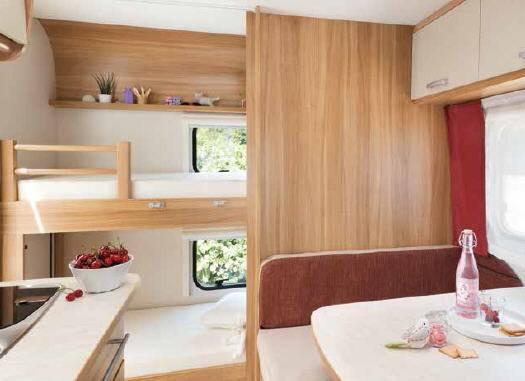 Caravelair Antares 426 - Interior
