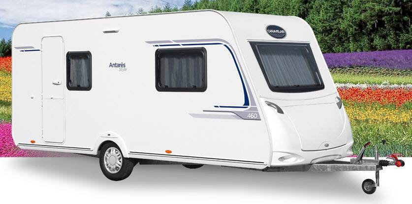 Caravelair Antares Style 460 - Exterior