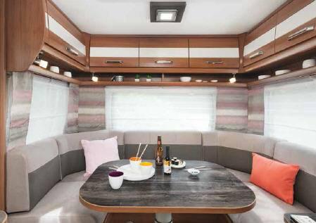 Caravelair Venicia Premium 475 - Interior