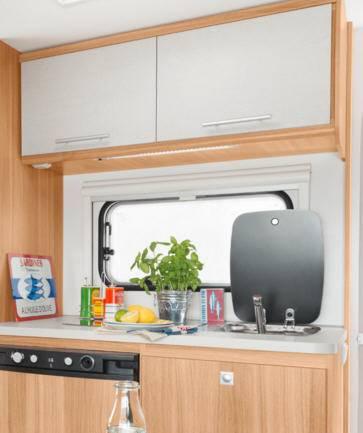 Caravelair Antares 450 - Interior