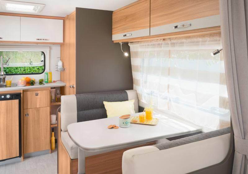 Caravelair Antares Style 460 - Interior