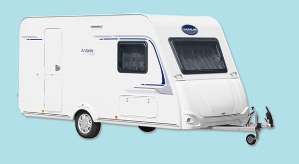 Exterior del modelo Caravelair Antares Style 376 Family
